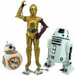 StarWars collection : Star Wars The Force Awakens 30.5cm Figurine BB-8 & C-3PO & RO-4LO Set Takara