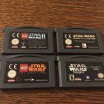 lot jeux Nintendo gameboy advance star Wars - pas cher StarWars
