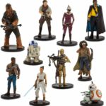 StarWars figurine : STAR WARS DISNEY STORE MEGA DELUXE FIGURINES A NEW HOPE THE RISE OF SKYWALKER