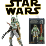 StarWars collection : Figurine BOBA FETT Star Wars La Série Noire Hasbro n ° 006 Limited New