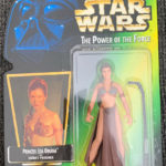 Figurine StarWars : Star Wars Princess Leia Organa as Jabba's Prisoner The Power of the Force Kenner