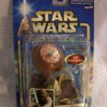 "StarWars figurine : STAR WAR FIGURINE-ATTACK OF THE CLONES ""YODA"" JEDI MASTER-DATED 2002"