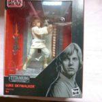 StarWars collection :  Figurine Star Wars Luke Skywalker Black Series 40 ans Star Wars