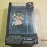 "Figurine StarWars : Star Wars Black Series 6"" Yoda #06 Action Figurecomes as pictured new, the box o"
