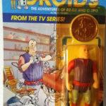 StarWars figurine : KENNER STAR WARS VINTAGE MOC JORD DUSAT DROIDS TV SERIES 1985