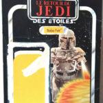 Figurine StarWars : MECCANO STAR WARS VINTAGE CARDBACK BOBA FETT GUERRE DES ETOILES 1983