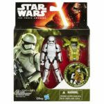 "StarWars collection : Star Wars Figurine 3,75"" 10 cm Armor Up Serie - B3892 - Stormtrooper - NEUF"
