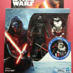 StarWars figurine : STAR WARS - AWAKENS - KYLO REN ARMOR UP - EPISODE 7 - TAILLE 10 CM - REF 6118