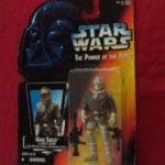 StarWars figurine : STAR WARS POTF (POWER OF THE FORCE) - HAN SOLO HOTH GEAR 1996 KENNER