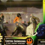 Figurine StarWars : Figurines Star Wars neuves neufs!La puissance de la force!Cantina showdown!!!!!!