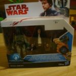 StarWars figurine : Figurines Star Wars : The Last Jedi Boba Fett and and Solo Force Link
