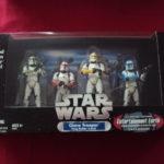 StarWars figurine : STAR WARS - CLONE TROOPER (TROOP BUILDER 4-PACK)  2005 HASBRO EXCLUSIVE