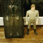 StarWars figurine : Vintage Star Wars 1984 Last 17 dernières figurines Han Solo in Carbonite Chamber