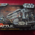 Figurine StarWars : STAR WARS BATTLE PACK CLONE WARS - THE HUNT FOR GRIEVOUS 5 CLONES SEALED
