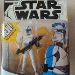 StarWars figurine : STAR WARS THE CLONE WARS - CLONE TROOPER LIEUTENANT - 2003 HASBRO