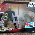 Figurine StarWars : Hasbro – B3832 – Hero Mashers – Star Wars – Sith Speeder & Darth Maul – Figurine