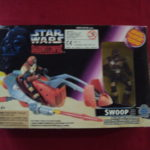 Figurine StarWars : STAR WARS POTF SHADOWS OF THE EMPIRE - SWOOP 1996 KENNER  NEUF