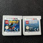 2 x 3DS GAMES STAR WARS lll & LEGO BATMAN - Occasion StarWars