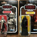 "StarWars collection : Hasbro Star Wars Kenner Vintage Collection 3.75"" Storrmtrooper (Mimban)+Kylo Ren"