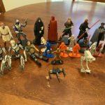StarWars figurine : Star Wars lot Miniature Figurines 25-piece