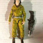 "StarWars collection : Star Wars Série Noire 6 "" Résistance Tech Rose Figurine Disney Hasbro"