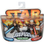 Figurine StarWars : Star Wars Galactic Heroes Count Dooku & Anakin Skywalker Hasbro Figurine Set