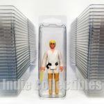 StarWars figurine : Star Wars Bulle Étui Lot 50 Action Figurine Affichage Protection Clamshell Petit