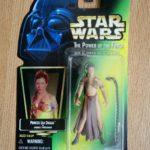 Figurine StarWars : 1997 Kenner Star Wars POTF Princess Leia Organa as Jabba's Prisoner figure
