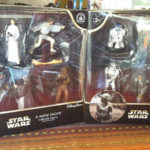 StarWars collection : Disney Star Wars Collectible 2 figurine sets collection