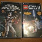 PSP Games - Star Wars Battlefront & Lego - Bonne affaire StarWars