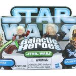 Figurine StarWars : Star Wars Galactic Heroes Mini Figurines 2 Paquet - Ahsoka & Anakin Skywalker