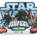 StarWars collection : Star Wars Galactic Heroes Mini Figurines 2 Paquet - Empereur Palpatine