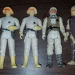 StarWars collection : 1980 1981 lfl star wars figures figurines lot of 4 see pics