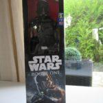 Figurine StarWars :  ☻ Figurine Star Wars Rogue One Death Trooper Disney Hasbro Neuf 30 Cm