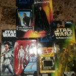 StarWars figurine : STAR WARS FIGURINES LUKE SKYWALKER PRINCESS LEIA AND AN ENDOR SOLDIER