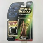 StarWars collection : Star Wars Power of the Force Princess Leia Organa as Jabbas Prisoner Kenner 1997