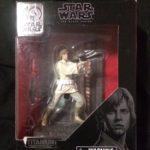 Figurine StarWars : Star Wars Black Series 40th Anniversary Luke Skywalker Titanium Series Figure