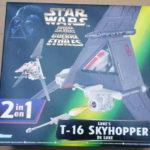 Figurine StarWars : Star Wars Hasbro POTF Kenner T-16 SKYHOPPER action Figure Vehicle Complete w/Box