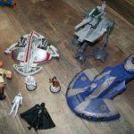 StarWars figurine : Lot figurines Star Wars et vaisseaux pour pièces