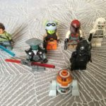 Figurine StarWars : star wars lego lot figurine rebels en tres bon etat