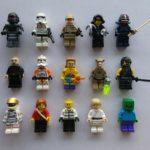Figurine StarWars : Lot  Lego (4) de 15 figurines / personnages / minifigures Stars Wars, City. ...