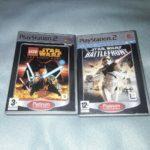 PLAYSTATION 2 starwars Games Bundle lego and - pas cher StarWars