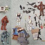 StarWars figurine : Lot de figurines star wars mix - yoda, chewbacca, droids, etc
