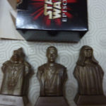 StarWars figurine : boite 3 figurines STAR WARS épisode 1 DARTH SIDIOUS OBI WAN KENOBI BOSS NASS