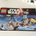 Figurine StarWars : star wars lego lot de figurine en tres bon etat 75138