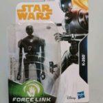 StarWars figurine : STAR WARS FIGURINE K-2SO SÉRIE FORCE LINK 2.0 SOUS BLISTER NEUF