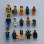 StarWars collection : Lot  Lego (1) de 15 figurines / personnages / minifigures Stars Wars, City. ...