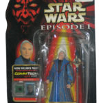 StarWars figurine : Star Wars Épisode I Chancellor Valorem Commtech Chip Action Figurine