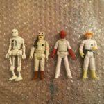 StarWars collection : Star Wars Vintage Kenner Lot de Quatre Action Figurines
