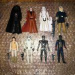 StarWars collection : Star Wars Vintage Kenner Lot de Figurines Darth Vader Obi-Wan Mort Étoile Droid